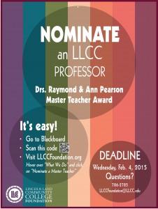 StudentFlierMT2015_Master Teacher 03-04 poster