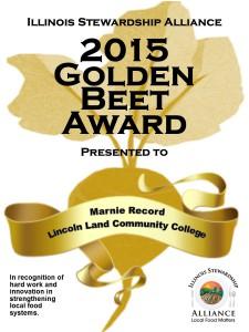 Golden Beet webtag Marnie Record