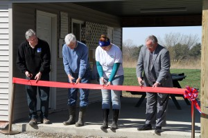 Ribbon cutting Rothering, Kleen, Roehrs, Shackelford
