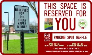 PTK Parking Spot Raffle
