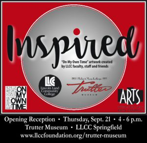 """Inspired """"On My Own Time"""" art show"""