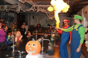 "Fifth annual ""Haunted Lab"" at LLCC"