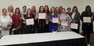 Fall 2017 LLCC nursing honors induction