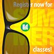 Register now for summer classes!