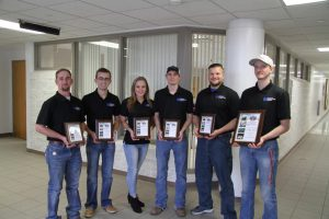 First place LLCC college bowl team