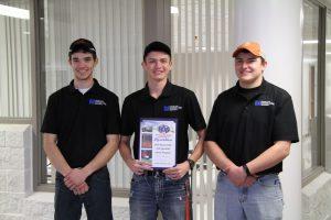 Second place LLCC soil specialist team