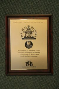 "LLCC recognized as a ""Best Place to Work"""