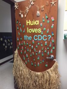 LLCC Child Development Center door