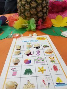 LEAGUE Luau bingo