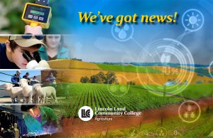 We've got news about the LLCC agriculture program!