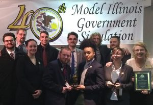 LLCC Model Illinois Government team