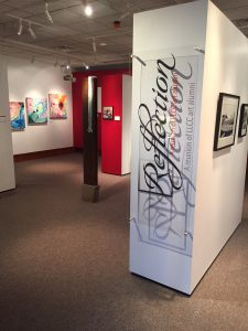 Reflection art exhibit