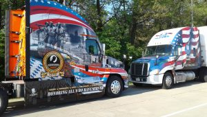 Ride of Pride and LLCC trucks