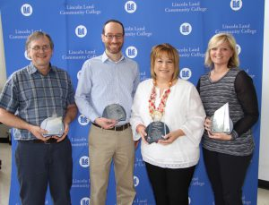 Rick Lashbrook, Dr. Jason Dockter, Karen Sanders and Misty Hagstrom