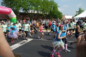 Girls on the Run spring race