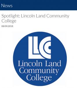 News spotlight: Lincoln Land Community College 08/09/2018