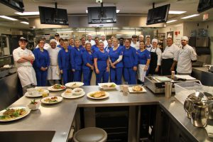 Culinary and nursing students