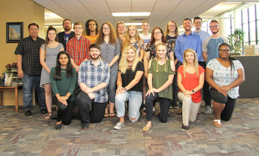 Fall 2018 peer tutors