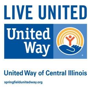 Live united. United Way. United Way of Central Illinois. springfieldunitedway.org