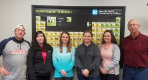 Anatomy and Physiology II class at LLCC-Litchfield