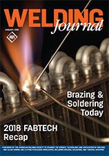 Welding Journal. February 2019. Brazing & Soldering Today. 2018 FABTECH Recap.