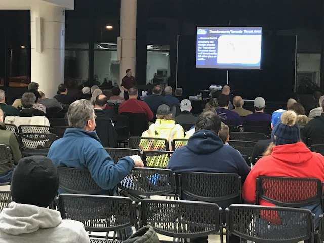 National Weather Service Spotter Training at LLCC