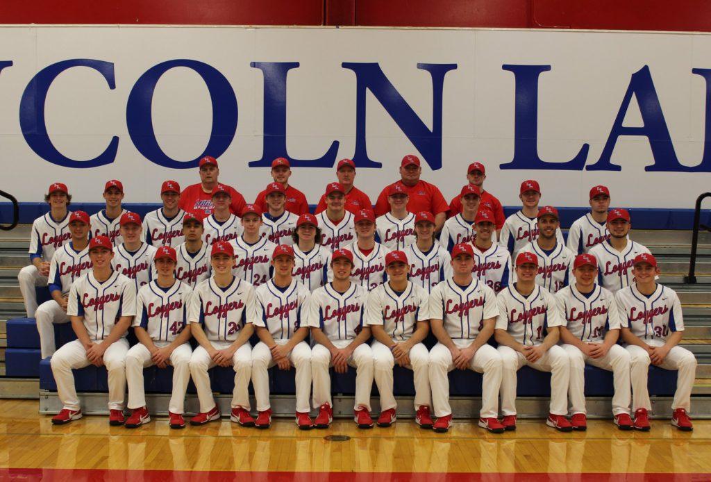 LLCC Loggers baseball team