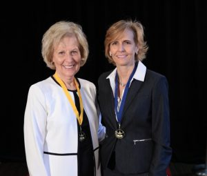 Linda Brown and Dr. Carmen Allen