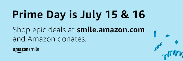 Prime Day is July 15 & 16. Shop epic deals at smile.amazon.com and Amazon donates. AmazonSmile