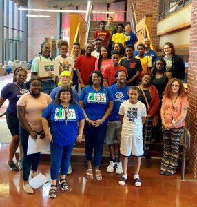 2019 Boys and Girls Club Teen Career Launch graduates