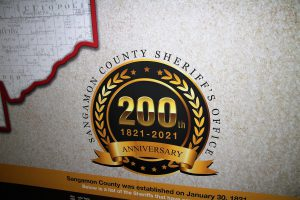 Sangamon County Sheriff's Office 200th Anniversary 1821-2021