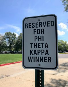 Reserved for Phi Theta Kappa Winner
