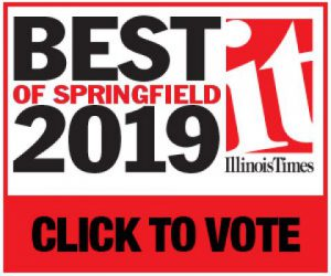 Best of Springfield 2019. IT: Illinois Times. Click to vote at https://illinoistimes.com/bestofspringfield#/gallery/186655376/?fbclid=IwAR3Yf95DafTlNYUMxFbLbtYuIHxHlGEdNmus_-VKHzGBHgRTQh9rzilhyeQ.