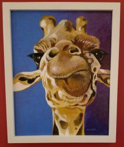 """Giraffe"" by Greg Walbert"