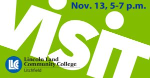 Visit Lincoln Land Community College-Litchfield Nov. 13, 5-7 p.m.
