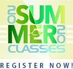 Summer 2020 Classes. Register Now!