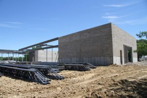 Kreher Agriculture Center construction