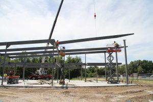 Kreher Agriculture Center construction