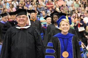 Dennis Shackelford and Dr. Charlotte Warren