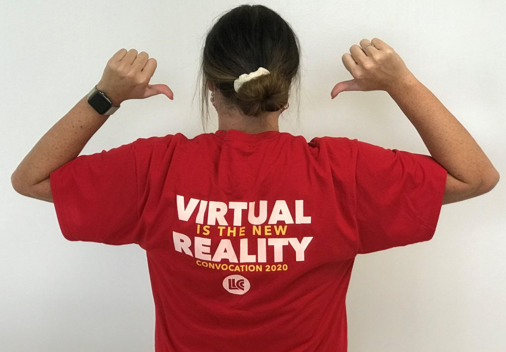 Virtual is the new reality. Convocation 2020. LLCC
