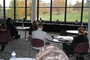 Presenters, including Dr. Charlotte Warren, at Leadership Springfield