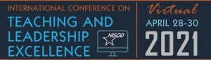 Internal Conference on Teaching and Leadership Excellence. NISOD. Virtual. April 28-30, 2021.