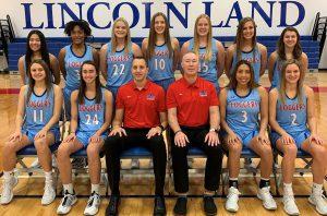 LLCC women's spring 2021 basketball team