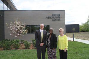 Ken Elmore, State Senator Doris Turner and Dr. Charlotte Warren