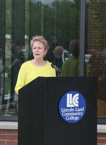 Dr. Charlotte Warren speaking