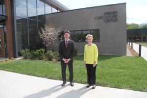 State Senator McClure and Dr. Charlotte Warren