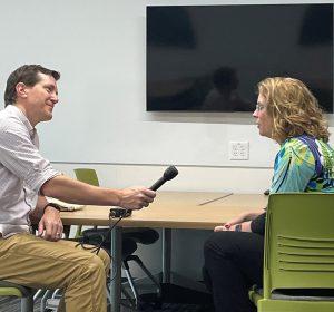 WFMB interview with LLCC alum Jennifer Waters