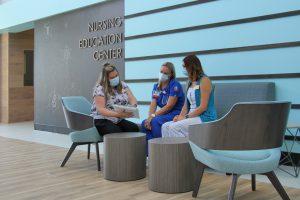 Dr. Sonja Spencer, Tracy Madonia and Bridgette Hudson