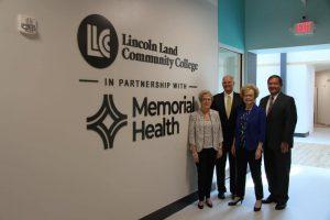 Dr. Charlotte Warren, Ken Elmore, Marsha Prather and Ed Curtis
