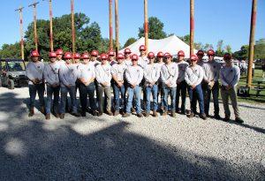 Students in LLCC distribution lineman program